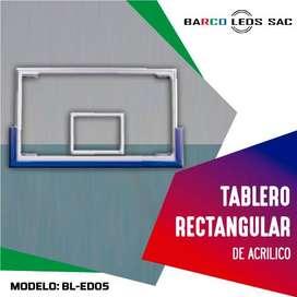 TABLERO RECTANGULAR DE ACRILICO