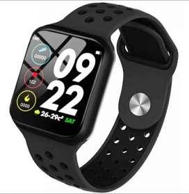 Reloj Inteligente Smartwatch F8 Fit Monitor Ritmo Cardiaco Negro y Rosado