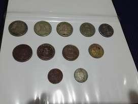 Vendo monedas colombianas de años pasados 1974 a 1976