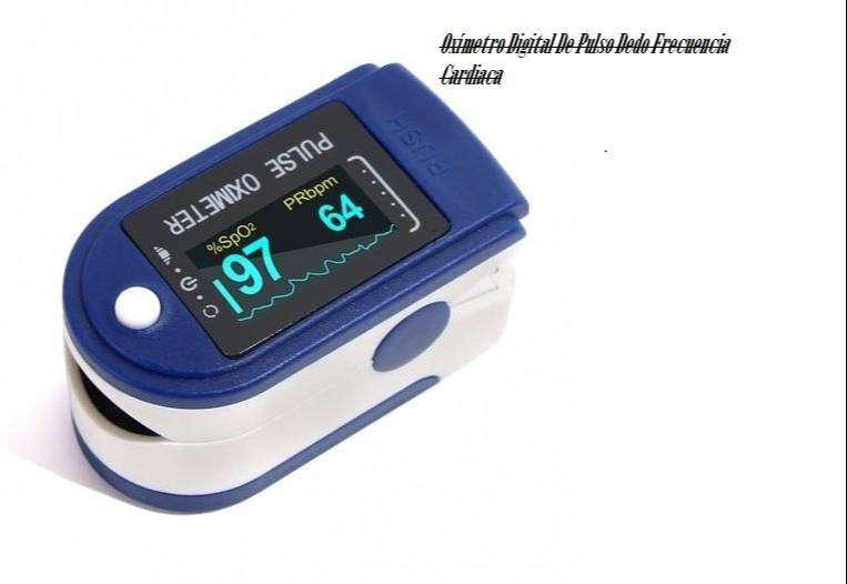 Oxímetro Digital De Pulso Dedo Frecuencia