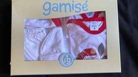 Pack Gamise Blanco Estampado Unisex