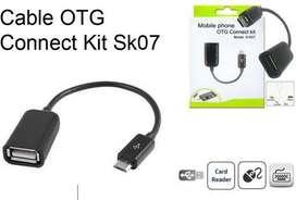 Cable OTG para celulares modelo s-k07
