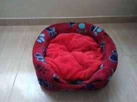 Casa cama para perro pequeño