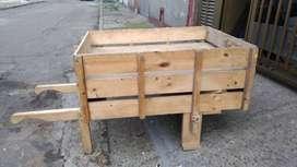 Carreta en madera