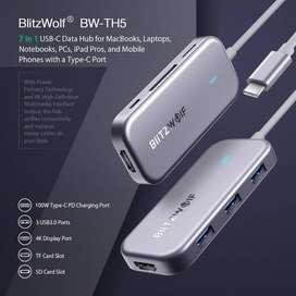 Hub de datos USB-C 7 en 1 BlitzWolf