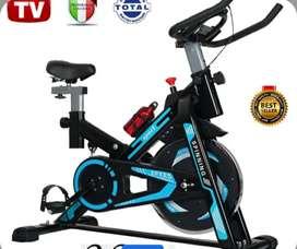 Bicicleta estatica tv spinning , Gymnasio en casa sports, eliptica, ajustable, nuevo modelo 2022