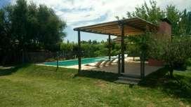 ns69 - Cabaña para 2 a 6 personas con pileta y cochera en San Rafael