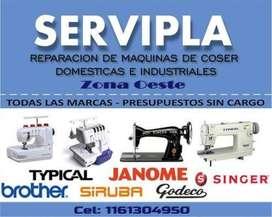SERVICE DE MÁQUINAS DE COSER