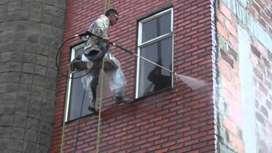 mantenimiento, limpieza y lavado de fachadas