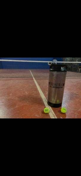 Presurizador de pelotitas de pádel y tenis Para 3 pelotitas y 60 pelittitas ( ideal para profes o clubes )
