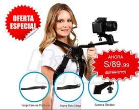 soporte de montaje de hombro estabilizador Manos Libres Universal videocámara DV cámara