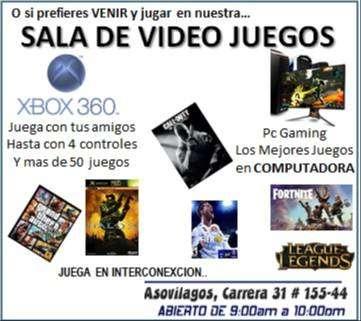 Alquiler de Xbox 360 con dos controles y 50 Juegos a Domicilio 0