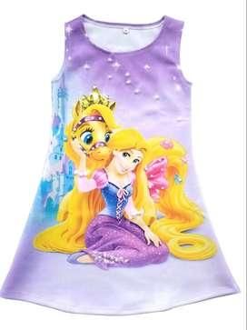 Vestido Rapunzel