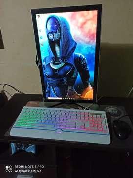 Monitor gamer y diseño 20 pulgadas dell