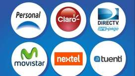 Carga Credito A Tu Celular - $ 300 Pesos Todas Las Compañias
