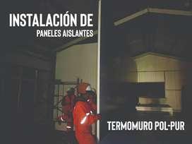 INSTALACIÓN PANEL TERMOMURO TERMOTECHO