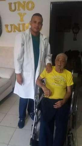 Ofrezco mis servicios para cuidar adulto mayor a domicilio,o en clínicas total experiencia