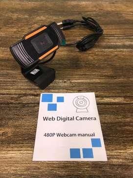 Web cam camara nueva usb con microfono