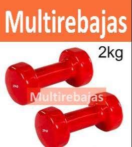 Pesa Mancuerna De 2kg Para Fitness Gym
