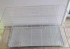 Jaulas reforzadas para conejos.