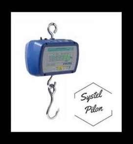 Pilon Ganchera Systel 150 Kg Bateria Y 220 Volt Conexion Pc 22500