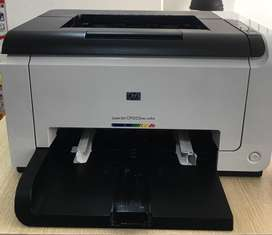 Impresora Láser Jet Cp1025Nw Color, hay que recargar los cartuchos