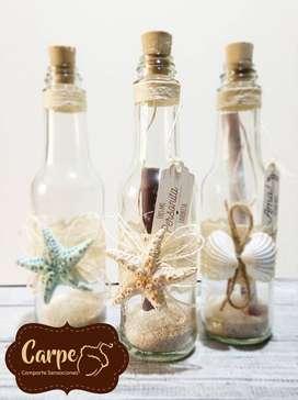 Invitaciones conchas o estrellas de mar