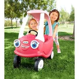 Carrito Cozy Coupe Little Tikes 100% Nuevo para niña Vehículo