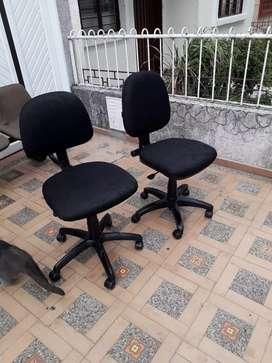 Vendo sillas de oficinas cada cuesta