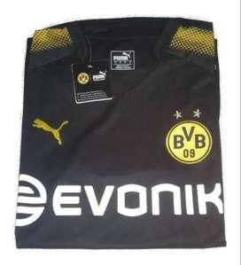 Camiseta IMPORTADA Borussia Dortmund Puma modelo Alternativa Negra Temporada 2018