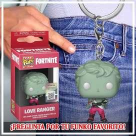 Fortnite Love Ranger Llavero Funko