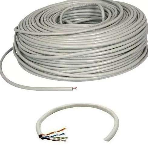 30 Metros Cable Nuevo Internet Red Utp , preparado listo para usar 0
