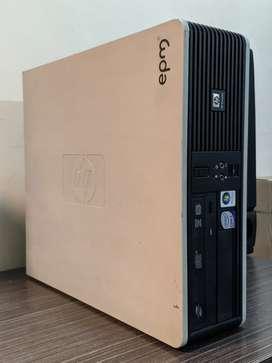 CPU / Torre - HP / 4 GB de ram / 160 GB de disco / Intel core 2 duo E8400 - Win 10