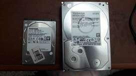 Discos duros internos portátil y desktop