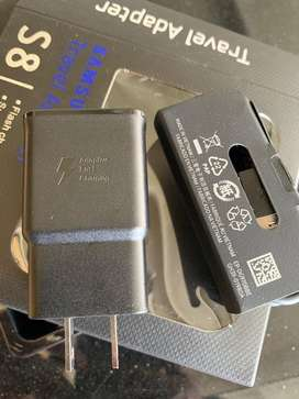 Cargador original Carga Rapida Samsung S8, S8 Plus, s9, s10, note 9,10, a20, a30, a50, Note 8. Fast charger Cable tipo C