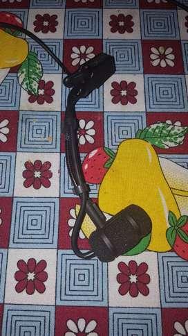 Micrófono inalámbrico condenser para instrumentos Audio Technica ATM350CW +System 8