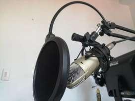 Micrófono condensador  C3 + interfaz