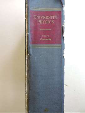 University Physics. Zemansky. Libro Completo