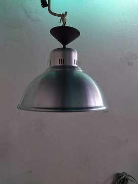 Lámpara Industrial Aluminio