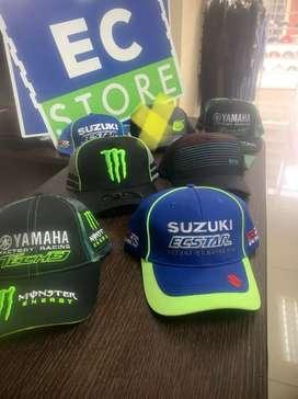 Gorras rally motocross de carreras originales Suzuki Yamaha KTM
