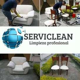 Limpieza de muebles alfombras y colchones