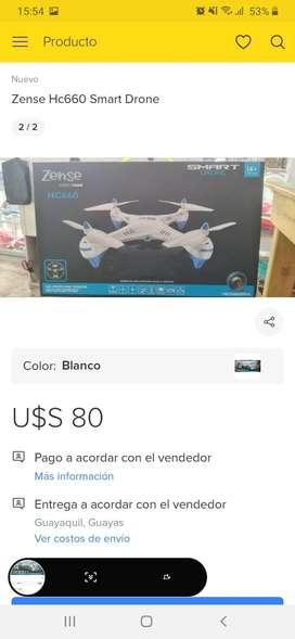 Drone zense HC660 blanco