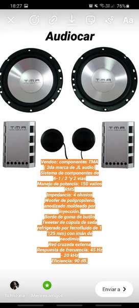 Componentes TMA (JL audio)