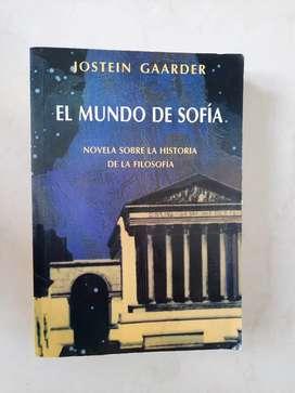 Vendo libro el mundo de Sofía