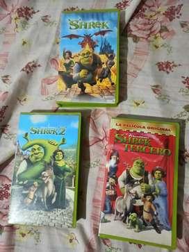 Vhs película originales las 3 pack.