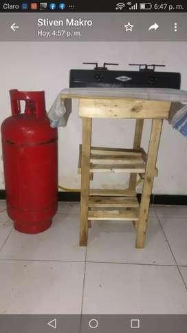 Cocina cilindro