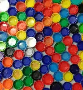 Tapas de plástico recicladas por kilo