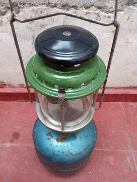 SOL DE NOCHE LAMPARA A GAS CON GARRAFA