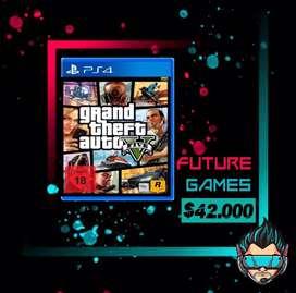 Se venden juegos para PS4