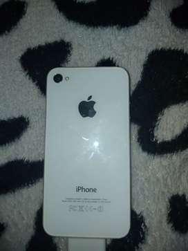Iphone 4 con cargador